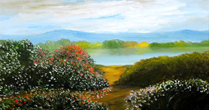 Oil Painting Royalty Free Stock Image