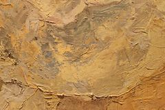 Oil Painting close up texture with brush strokes Stock Image
