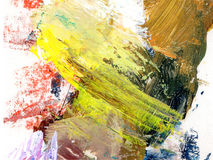 Oil painting color texture Royalty Free Stock Photo