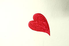 Oil painting heart Royalty Free Stock Photography