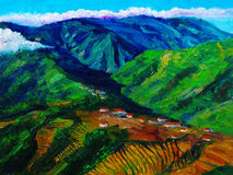 Oil Painting - Landscape Royalty Free Stock Photography