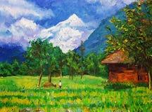 Oil Painting - Landscape Stock Photos