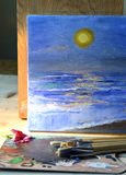 Oil painting. Royalty Free Stock Image
