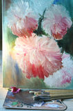 Oil painting. Stock Images