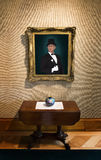 Oil Painting Portrait Rich Wealthy Man Art Gallery Royalty Free Stock Photo