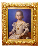 Oil painting of a young girl Royalty Free Stock Image