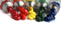 Oil paints 1 Royalty Free Stock Photos