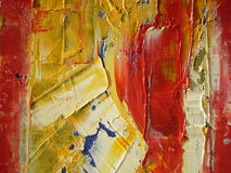 Oil paints. The abstract image oil paints royalty free stock photography
