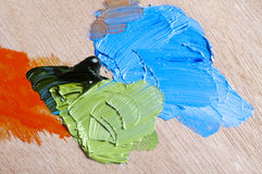 Oil Paints Stock Photography