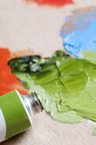 Oil Paints Royalty Free Stock Photo