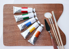 Oil paints set 1 Royalty Free Stock Photography