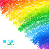 Oil pastel background Royalty Free Stock Photo