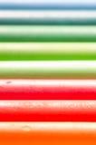 Oil pastel crayons Stock Photos