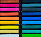 Oil pastel sticks Stock Image