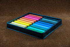 Oil pastel sticks Stock Images