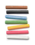 Oil pastel sticks Stock Photography