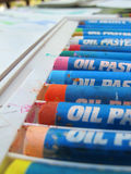 Oil Pastels 2 Royalty Free Stock Image