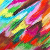 Oil pastels background Stock Photo