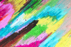 Oil pastels background stock images