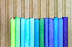 Oil Pastels Stock Photo