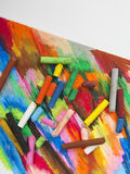Oil pastels Royalty Free Stock Images