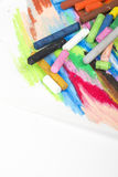Oil pastels Royalty Free Stock Image