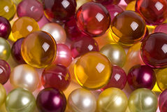 Oil pearls Royalty Free Stock Photos