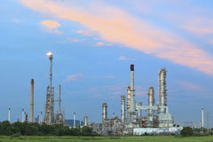 Oil and petrochemical industry plant in thailand Royalty Free Stock Image