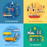 Oil Petrol Industry 2x2 Images Royalty Free Stock Image