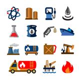 Oil and petrol Stock Photos