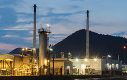 Oil petroleum industrial. Power factory Royalty Free Stock Image