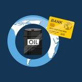 Oil and petroleum industry economic world money Stock Photo