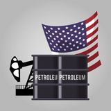 Oil and petroleum industry. Icon vector illustration graphic design Stock Image