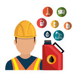 Oil and petroleum industry Royalty Free Stock Images