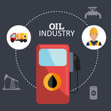 Oil and petroleum industry Royalty Free Stock Photo