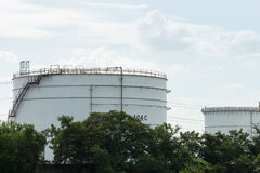 Oil petroleum storage industrial Royalty Free Stock Photography