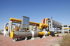 Oil pipeline Stock Photography