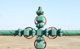 Oil pipeline Royalty Free Stock Photos