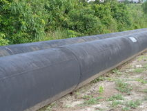 Oil pipeline Royalty Free Stock Photos