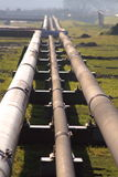 Oil pipelines Stock Photography