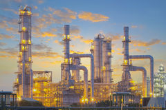 Oil plant Royalty Free Stock Photography
