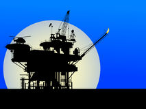 Free Oil Platform Stock Image - 20373821