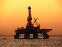 Free Oil Platform Royalty Free Stock Image - 3475066