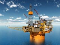 Oil Platform Royalty Free Stock Photography