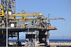 Oil platform out of order Stock Photography