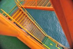 Oil Platform Rig Ladder Royalty Free Stock Photo