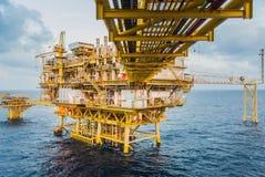 Oil platform Royalty Free Stock Images