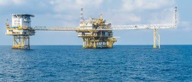 Oil platform Stock Image