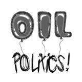 Oil and politics 2 Stock Photo