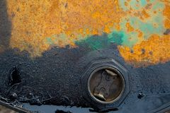 Oil pollution Stock Photography